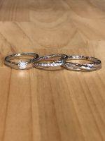 結婚指輪と婚約指輪の3点セット