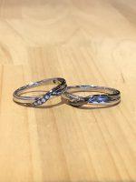 結婚指輪アレンジ