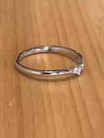 結婚指輪ブルーダイヤモンド
