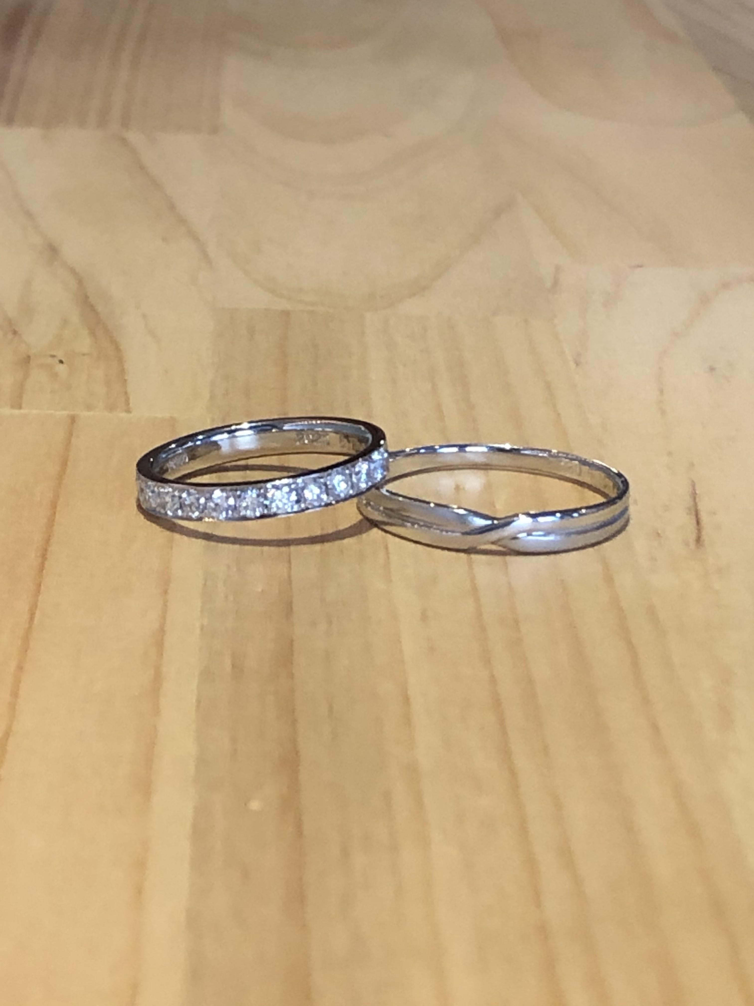 結婚指輪エタニティリング