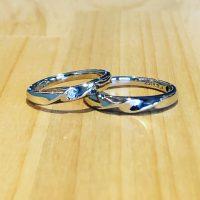 結婚指輪ストレート