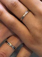 結婚指輪御納品