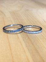 結婚指輪や婚約指輪にエタニティリング