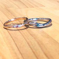 結婚指輪ウェーブタイプ