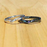 結婚指輪や婚約指輪カラーリング