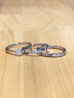 結婚指輪と婚約指輪セット