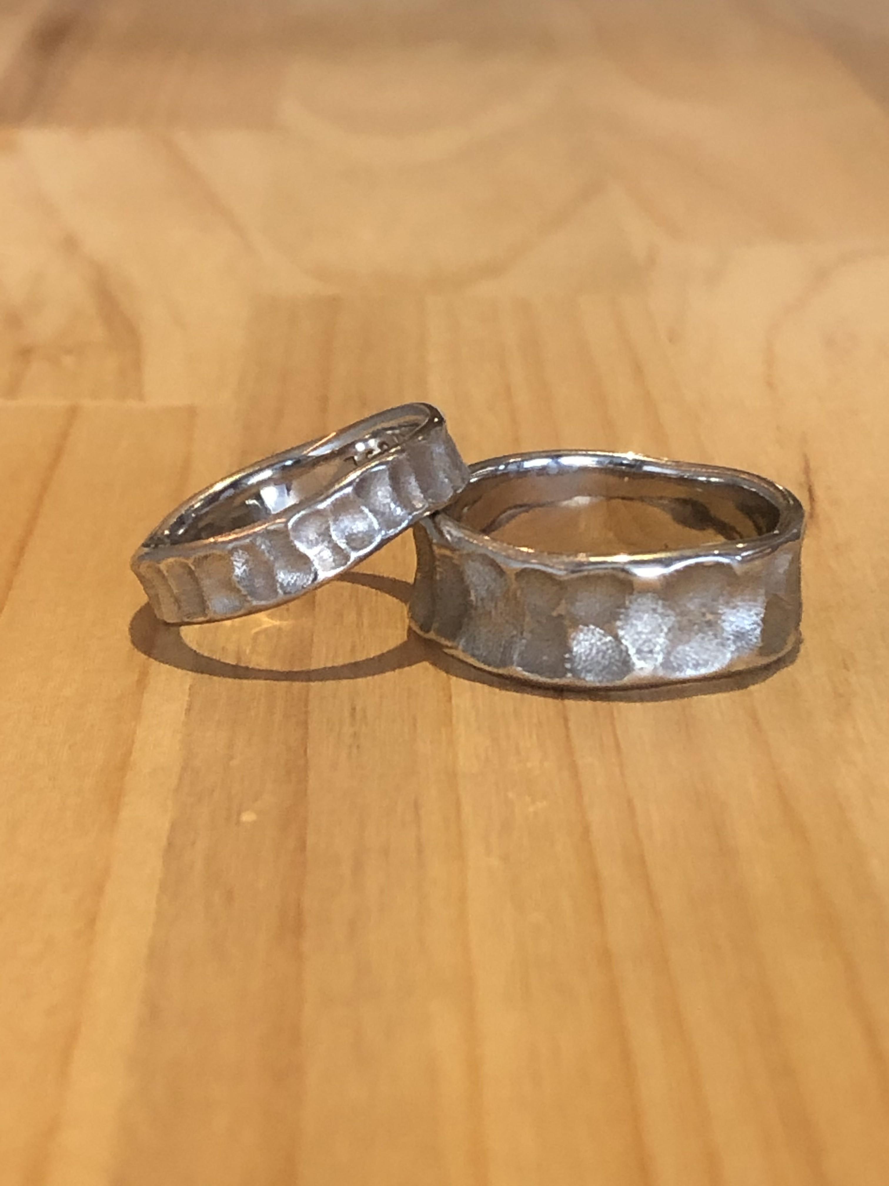 結婚指輪荒らし加工