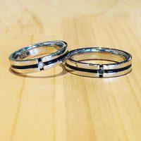 結婚指輪カラーリングアレンジ
