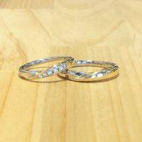 結婚指輪コンビリング