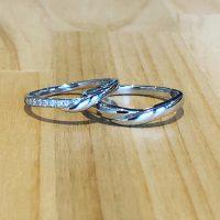 結婚指輪V型タイプ