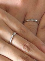 結婚指輪の御納品