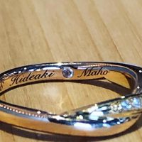 結婚指輪や婚約指輪内側刻印